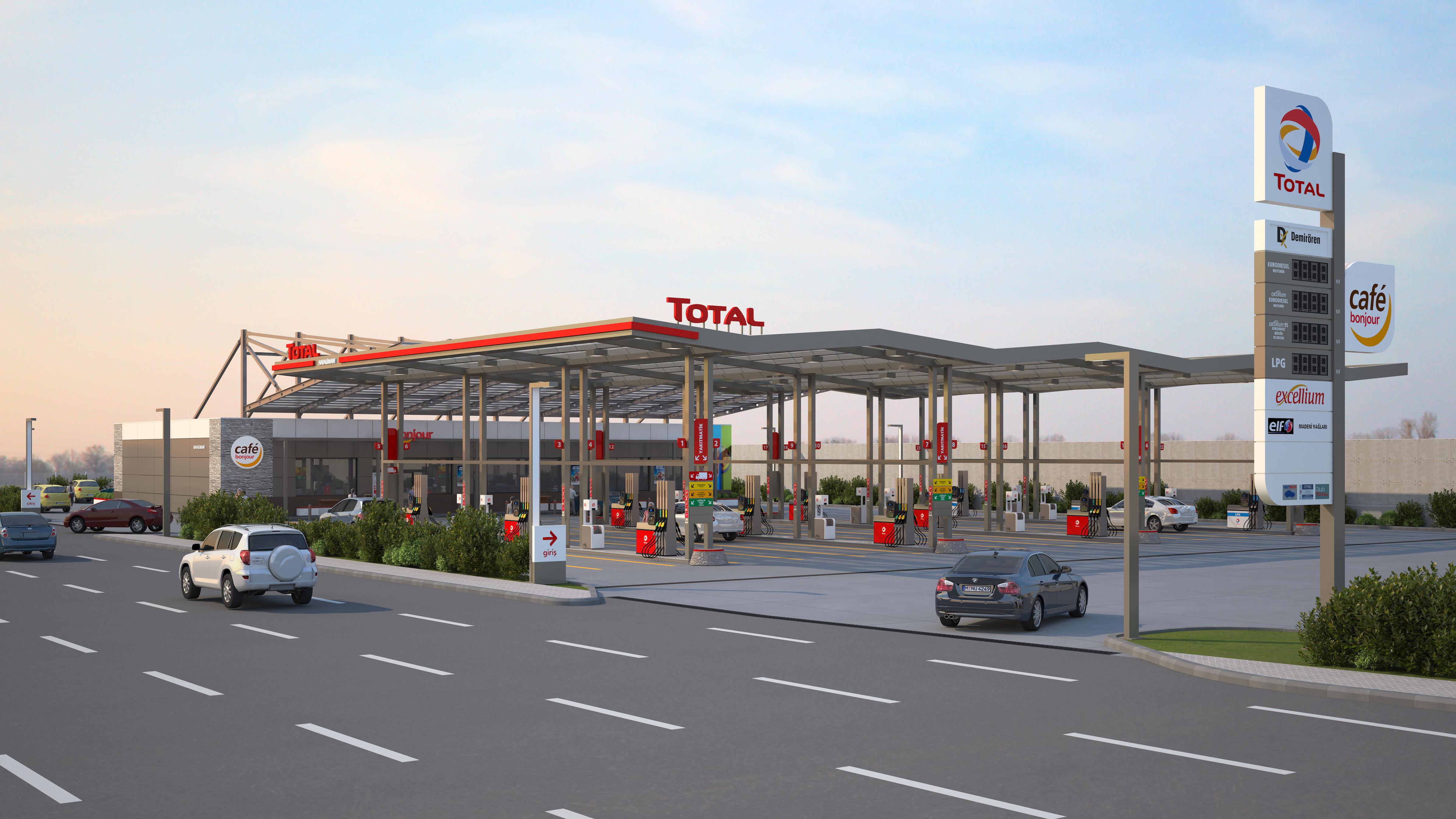 İstanbul Yeni Havalimanı'nın akaryakıt istasyonu TOTAL olacak.